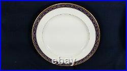 10 Antique Cobalt & Gold Minton Dinner Plates for Spaulding & Co Chicago ExCdn