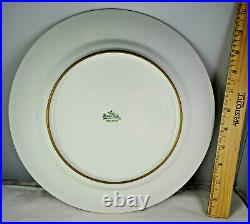 11 Gold Encrusted Rosenthal Selb Bavaria Lg. Porcelain Dinner Service Plates