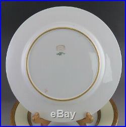 11 Gorgeous Gold Rimmed Copeland Spode Porcelain Dinner Plates