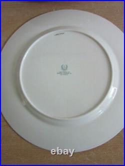 12 Antique Lenox gold design Rim Dinner Plates Parmelee Dohrmann Co 10.5