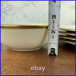 16 pcs Lenox China Eternal Dinner & Salad Plates, Bowls, featuring Gold Bands
