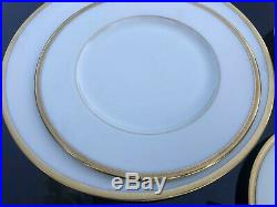 30Pc Lenox Tuxedo Dinnerware Set For 6 Dinner Salad Dessert Plates Cups Saucers