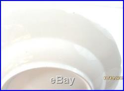 Antique KPM Royal Porcelain Berlin Blue Gold 1849-1870 (6) Dinner Plates