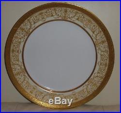 Antique Rosenthal Selb Bavaria Gilt Gold Encrusted Dinner Plate