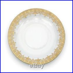 Arte Italica Vetro Gold Dinner Plate S693-26-SOZ