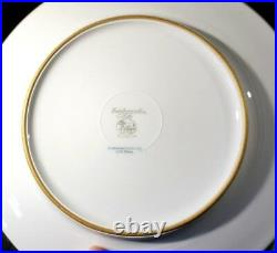 Beautiful Hutschenreuther Melb Heavy Gold Encrusted Dinner Plate