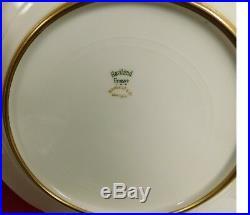 Exquisite Haviland & Co. Limoges Cobalt Gold Encrusted Dinner Plates-set Of 12