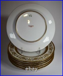 Haviland Imperator Raised Gold Dinner Plate