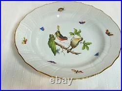 Herend Rothschild Dinner Plate 10 1/8 Hungary 1525/RO HEREND China