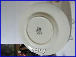 Jim Beam 1972 Republican Dinner & 22K Gold Richard Nixon Decanters & Menu Plate