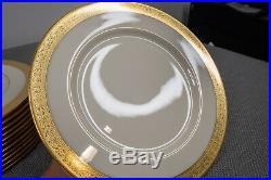 Lenox Westchester M-139 Dinner Plates 10 1/2 Diameter Set of 12 FREE SHIPPING