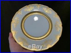 Lenox X1445/G74I Cabinet Dinner Plates Set of 8 10 3/4 Dia Gold Encrusted