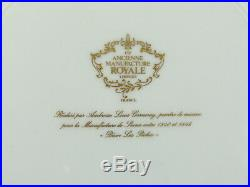 Limoges Ancienne Manufacture Royale Dinner Plates Peche des Grenouilles Mint