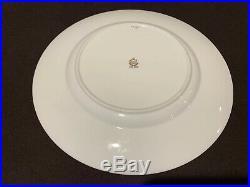 Minton Argyle Ivory Dinner Plates Set of 8 Gold Encrusted H4965 Cabinet Plates