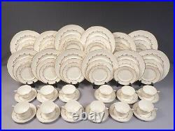 ROYAL DOULTON RONDO FULL SET for 12 Dinner cups Plates H4935 England