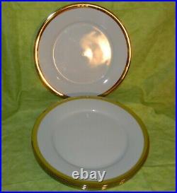 Ralph Lauren China Academy Gold Dinner Plate Set of 4