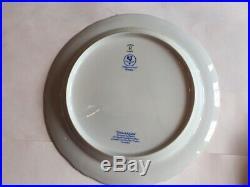 Raynaud Ceralene Limoges France MARIE ANTOINETTE GOLD Dinner Plates (4) 10 1/4