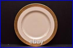 SET 4 Lenox Westchester Gold Dinner Plates 10 5/8