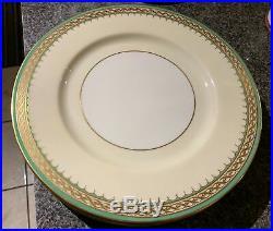 TIFFANY & CO. Lenox Gold Trim Deco Dinner, Salad, Desert Plates Lot of 16 L@@K