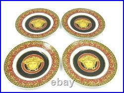 Versace by Rosenthal Medusa Red Plates Set of 6