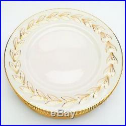 Vintage 1930's Set of 10 Lenox'Beltane' Gold Dinner Plates